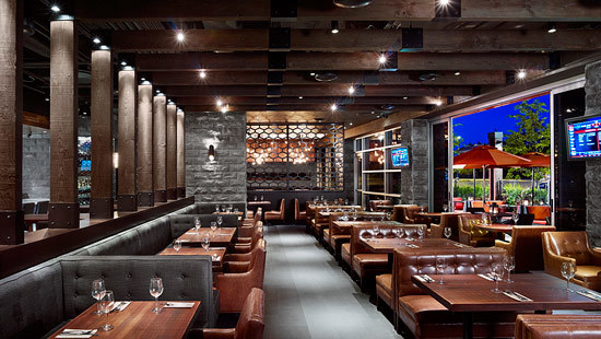LED Lighting retrofit at metro restaurant provides pleasant and profitable setting for customers